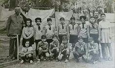Buca Hasanağa Bahçesi gençlik kampı. 1973 yılı.