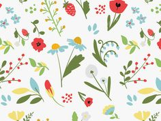 floral pattern by Zara