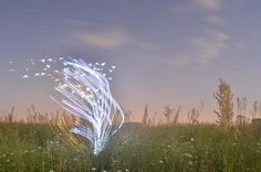 Light Painting - Exploration in country - Garu Garu - 07/05/2012 - Nikon D7000