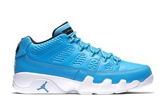"The Jordan 9 Low Gets A ""Pantone"" Blue Makeover for Summer http://SneakersCartel.com #sneakers #shoes #kicks #jordan #lebron #nba #nike #adidas #reebok #airjordan #sneakerhead #fashion #sneakerscartel"