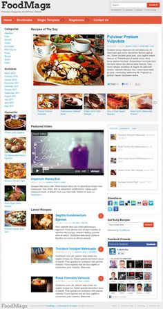 Heavy content friendly premium magazine WordPress theme from ColorLabs.