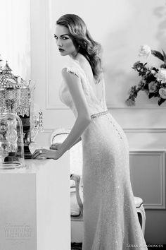 lusan mandongus bridal 2013 glamourous wedding dress