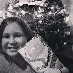 More Cornucopia pictures by the tree! Who else has one?  #childrensbook #childrenspoems #childrenspoetry #scholasticbookfair #teacherlife #momlife #lundeens #vromans #pengiunbooks #momsofinstagram #teachers #christmas #holidayreading #holidaysgifts #giftsforkids #kidgifts #elementary #giving #givingseason