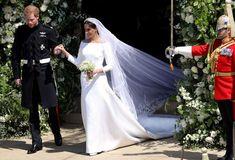 Meghan Markle Givenchy Wedding Dress I like the simple nature of the dress itself.