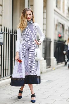 The Best Street Style At London Fashion Week SS18 #refinery29 http://www.refinery29.uk/2017/09/170850/street-style-london-fashion-week-ss18#slide-75