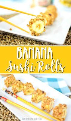 Banana Sushi Rolls R