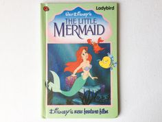 Vintage Walt Disney's The Little Mermaid Ladybird Book, First Edition, Gloss Hardback, early 1990s, 00367