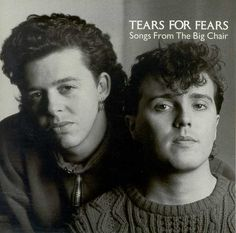 Purchase this original 1985 vinyl pressing of Songs From The Big Chair, the second album from new wave band Tears For Fears. Browse our selection of other rock albums on vinyl at Voluptuous Vinyl Records! Beatles, Cyndi Lauper, 80 Bands, Music Bands, Rock Bands, 80s Musik, Good Music, My Music, New Wave Music