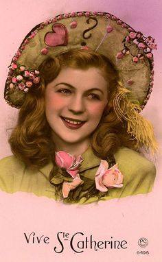 Image Halloween, Image Fruit, Nostalgic Pictures, Sainte Catherine, Image Nature, Art Populaire, Images Vintage, Picture Postcards, St Patrick
