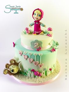 Masha and the bear by Sweet Janis