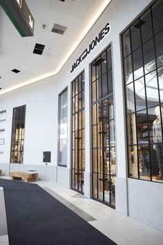 Big New York style loft windows - Jack and Jones Kolding
