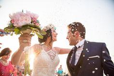 Fotógrafo de bodas. Boda en la playa. Beach wedding.