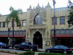 Downtown Santa Ana, California