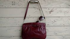Check out this item in my Etsy shop https://www.etsy.com/listing/482415254/retro-oxblood-leather-purse-by-etienne