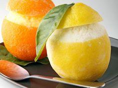Citroen sorbetijs - Lekkere gerechten met videouitleg op Kookse.tv