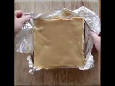 How to make Reese's Cup Cheese Cake Bar - YouTube