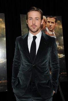 Because it's Ryan Gosling and it's perfectly tailored and Ryan has a super hot body and a flawless face. Duh.