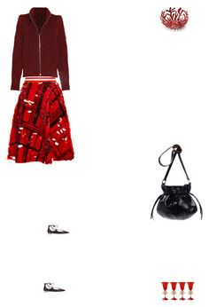 """""""Grace"""" by zoechengrace ❤ liked on Polyvore featuring Preen, Isabel Marant, Aquazzura and Alessi"""