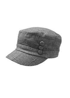 Three Button Cadet Hat
