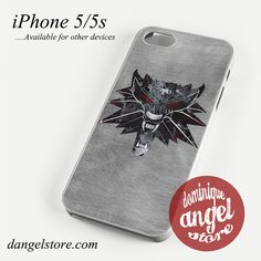 The witcher game logo Phone case for iPhone 4/4s/5/5c/5s/6/6 plus