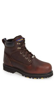 GOODYEAR 'Daytona S' Leather Boot (Men) available at #Nordstrom