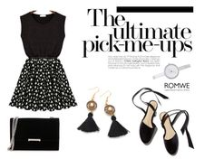 """""""ROMWE"""" by besirovic ❤ liked on Polyvore featuring Ivanka Trump, Woman Within and DKNY"""