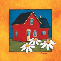 Laminages - La Banquise du Golfe Galerie D'art, House Painting, Images, Clip Art, Houses, Passion, Dolphins, Acrylic Paintings, Watercolor Paintings