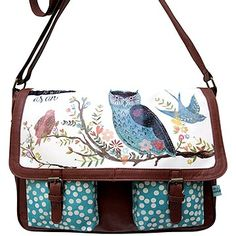 cloth-ears - In A Nutshell Satchel Bag by Disaster Designs