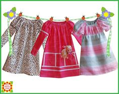 Juliet PEASANT DRESS PATTERN for Girls by DressPatterns4Girls, $6.90