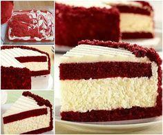 Creative Ideas - DIY Gorgeous Red Velvet Cheesecake | iCreativeIdeas.com Follow Us on Facebook --> https://www.facebook.com/iCreativeIdeas