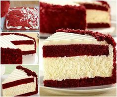 Creative Ideas - DIY Gorgeous Red Velvet Cheesecake | iCreativeIdeas.com Follow Us on Facebook --> https://www.facebook.com/iCreativeIdeas
