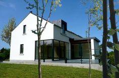 One off bespoke house in Belfast, rural design