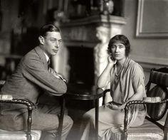 king george VI & queen elizabeth