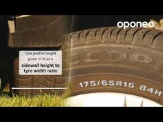 Decoding tyre dimensions marks ● Hints from Oponeo™ - YouTube
