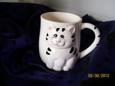 Vintage Lefton Cat Mug (That was the caption on it. I'm not sure it is really Lefton.)