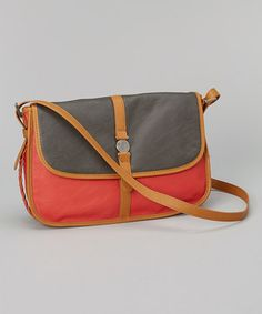 Another great find on #zulily! Coral Haze Giddy Up Crossbody Bag by Volcom #zulilyfinds