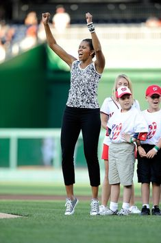 Michelle Obama is a goddess. A goddess wearing Cons <3