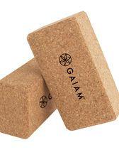 Cork Yoga Bricks (9x6)