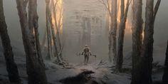 The Cinder, Max Bedulenko on ArtStation at https://www.artstation.com/artwork/r1KGJ
