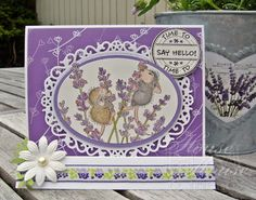 House-Mouse & Friends Monday Challenge: Flower Power, or, Flour Power. Challenge # HMFMC145