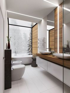Bathroom decor for the bathroom renovation. Learn master bathroom organization, master bathroom decor a few ideas, master bathroom tile a few ideas, master bathroom paint colors, and much more. Wood Bathroom, Bathroom Layout, Modern Bathroom Design, Bathroom Colors, Bathroom Interior Design, Bathroom Faucets, Small Bathroom, Bathroom Ideas, Bathroom Organization