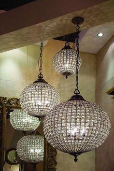 round+chandelier | Round Crystal Chandelier Large Leaf Decoration Band - Sml Es Bulb