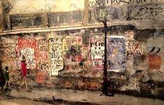 モーリスユトリロに影響を受け パリに遊学した佐伯祐三 渡仏後1年でパリで衰弱死する この作品は佐伯祐三の中でも最高傑作だと思う ユトリロを凌駕した鬼気迫る作品 - 千代田区、東京国立近代美術館の写真 - トリップアドバイザー
