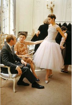 34 Never-Before-Seen Fashion Photos That Captured the Lavish and Iconic Gowns of Christian Dior from the 1950s and 1960s