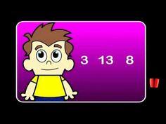 Fun video that explains how to order numbers to 20 Teaching Numbers, Math Numbers, Teaching Math, Teaching Ideas, First Grade Math, Second Grade, School School, School Stuff, Math Games