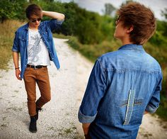 ''Jeans with brown at outdoor summer time'' I invite to more -> http://lookbook.nu/user/2151530-Patryk-D/looks