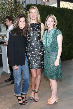 Gucci Westman, Vogue's Selby Drummond, and Elizabeth Shaffer
