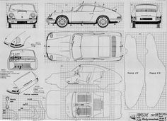 Porsche 911 (1963) | SMCars.Net - Car Blueprints Forum
