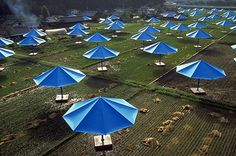 Christo and Jeanne-Claude The Umbrellas, Japan - USA, 1984-91