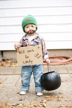 Bum Halloween costume, Boys halloween
